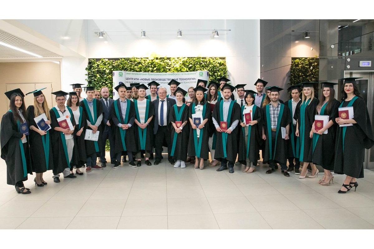 Выпускники ИППТ СПбПУ 2019 года получили дипломы магистров