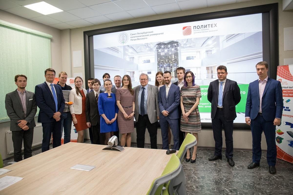 В ИППТ СПбПУ состоялась защита магистерских диссертаций студентов первого выпуска