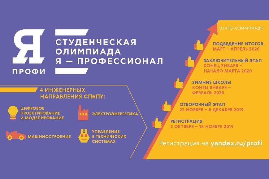 Олимпиада «Я – профессионал» по направлению «Цифровое проектирование и моделирование»