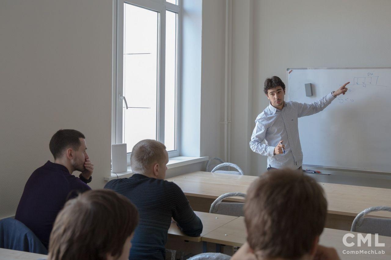 Научный сотрудник Центра Материалов Высшей горной школы Парижа (Centre des Matériaux, MINES ParisTech) В.А. Ястребов