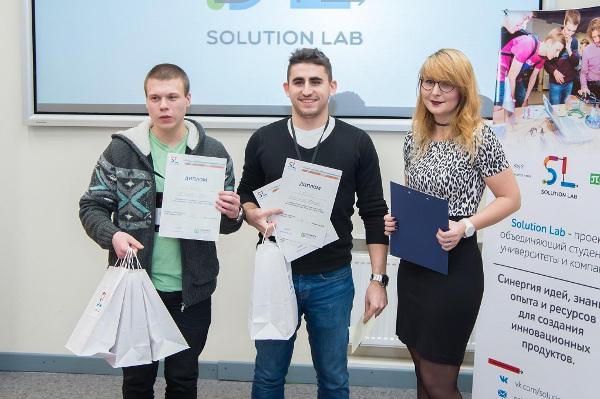 Команда ИППТ СПбПУ на 1 месте по итогам осеннего сезона проекта Solution Lab