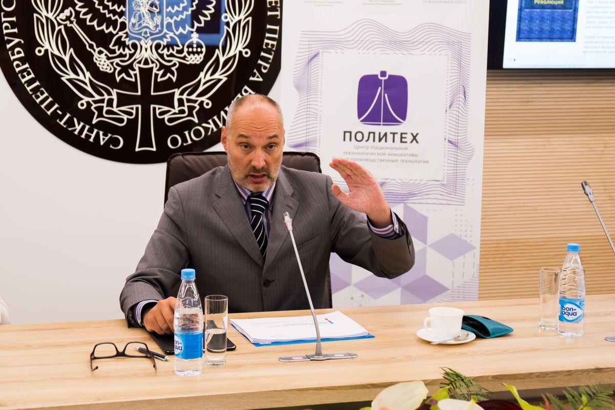 Петр Щедровицкий выступил с лекциями в Центре НТИ СПбПУ