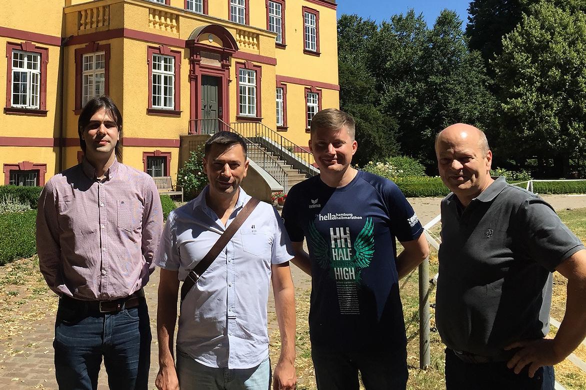 Специалисты Центра НТИ СПбПУ посетили научно-производственную компанию «Балтико» (Германия)