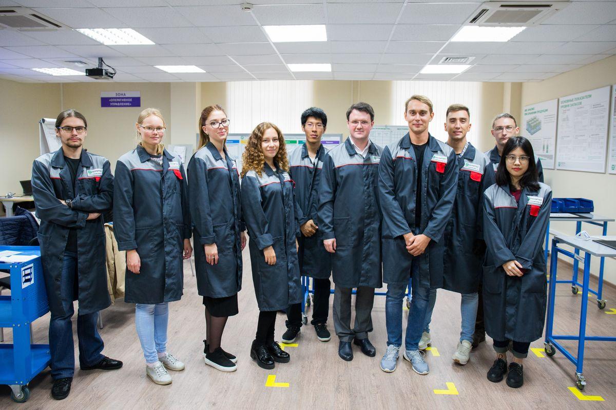 Студенты ИППТ СПбПУ прошли курсы «Основы бережливого производства»