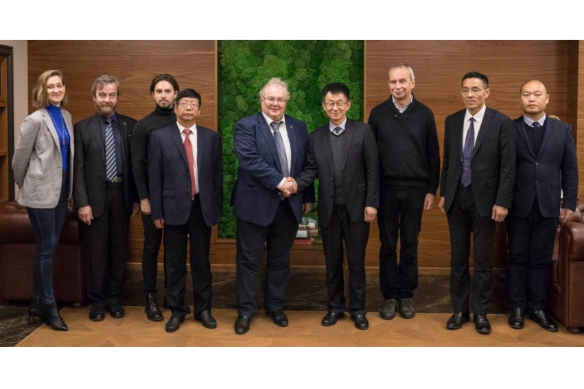 Департамент науки и техники провинции Хэбэй и СПбПУ подписали меморандум о сотрудничестве