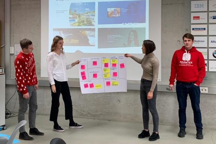 На стратегической сессии в Мюнхене сотрудники Центра НТИ СПбПУ, ВШТП ИППТ и Центра «Политех Strascheg» обсудили международное сотрудничество в сфере технологического предпринимательства