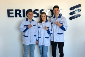 Студенты 2-го курса магистратуры ВШТП – Виталий Сидоренко и Кира Дроздова – рассказали о проектах и достижениях во время учебы