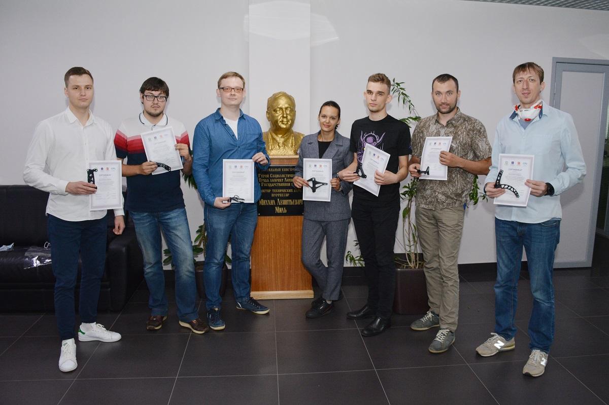 Центр НТИ СПбПУ провел обучение сотрудников Национального центра вертолетостроения им. М.Л. Миля и Н.И. Камова