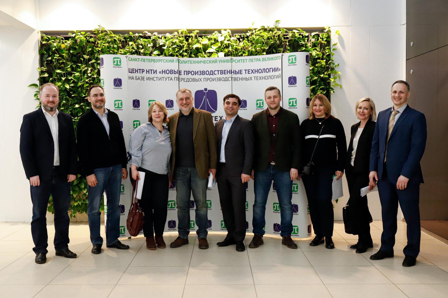 Делегация международной компании AGC Glass Europe с рабочим визитом посетила Центр НТИ СПбПУ