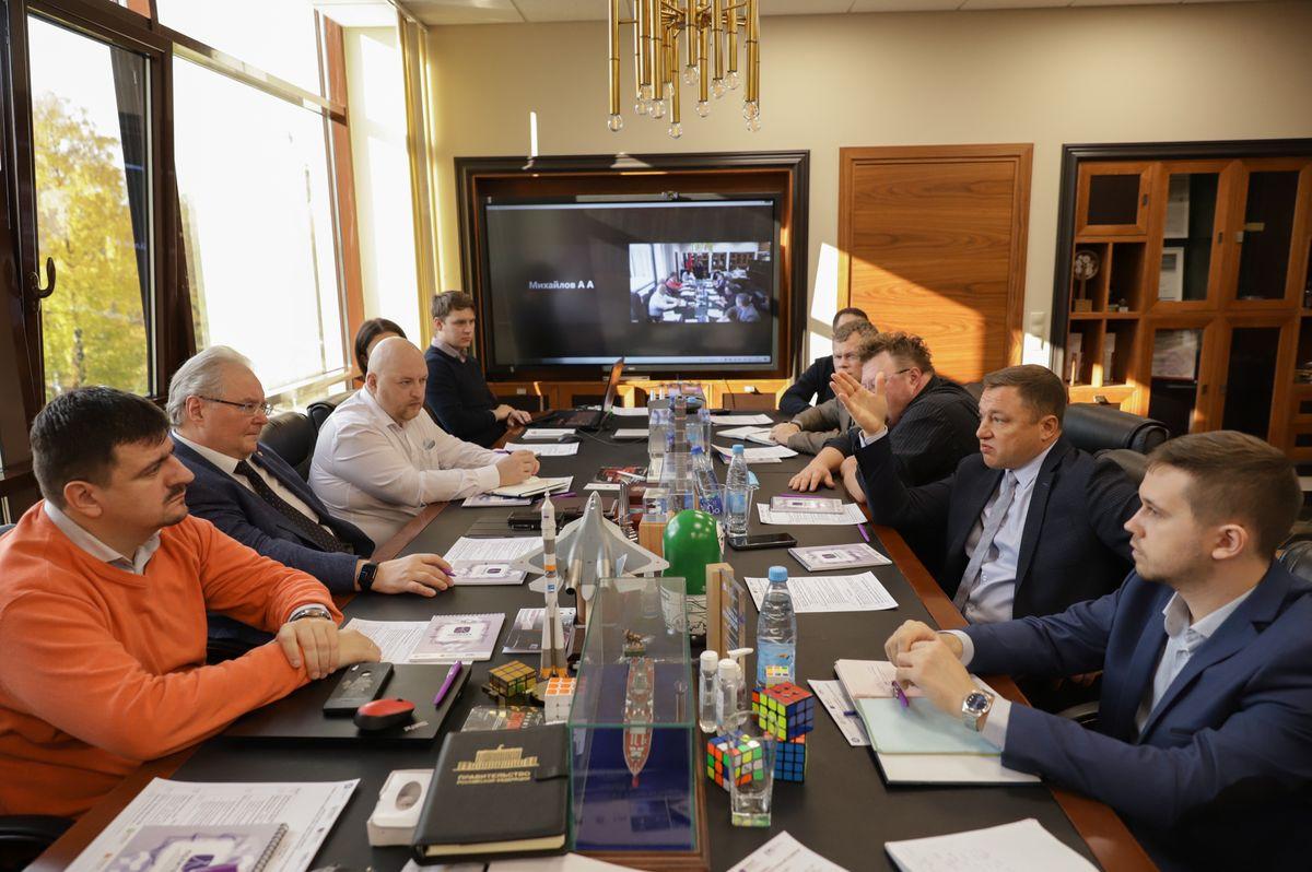 Центр НТИ СПбПУ с рабочим визитом посетил генеральный директор НПО «Центротех» Илья Кавелашвили
