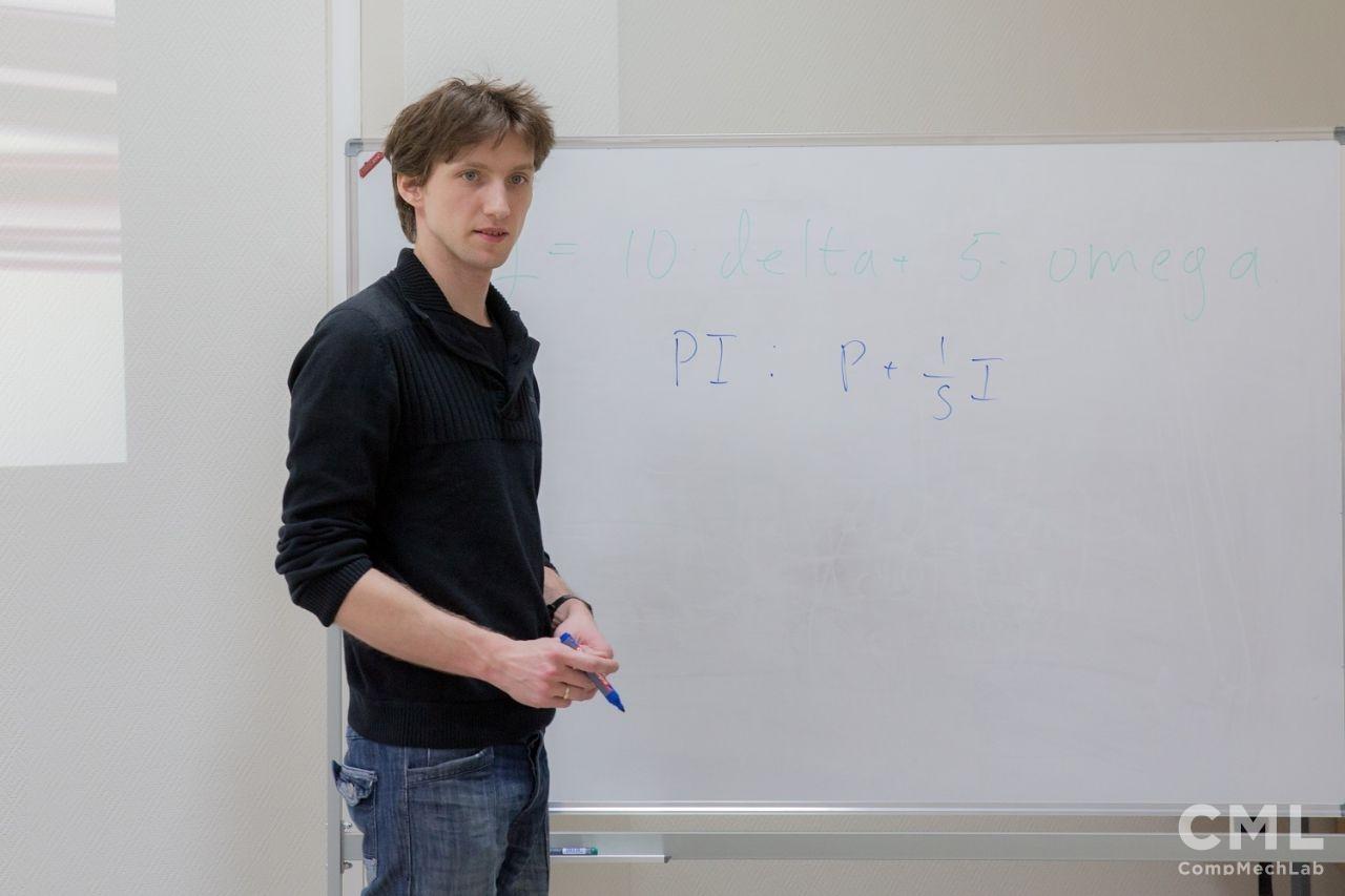 Научный сотрудник Университетского колледжа Лондона Кирилл Аристович