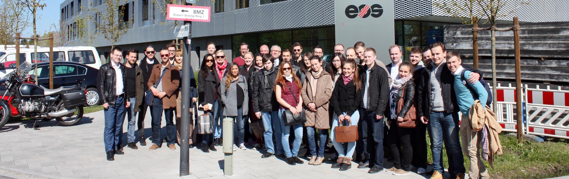 Студенты ИППТ в Мюнхене